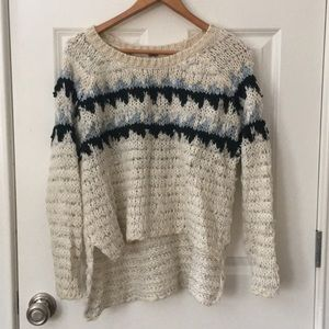 Free People High low Sweater